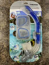 Head Tarpon 2/ Barracuda Dry Adult Silicone Combo Goggles & Snorkel-NEW-Sealed