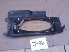 1981-1987 CHEVROLET GMC K10 1986 85 BEHIND SEAT CAB SPEAKER MOUNT LEFT DRIVER OE