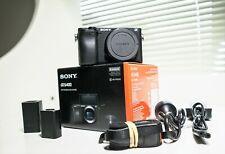 Sony Alpha A6400 Mirrorless Digital Camera 4K Low Shutter Count