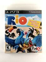 Rio (Sony PlayStation 3, 2011) VG Condition, Complete, CIB, *TESTED*