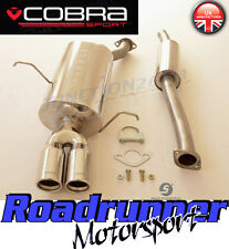 BM11 Cobra BMW 316i 318i E46 Stainless Steel Performance Cat Back Exhaust System