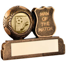Man of the Match Trophy,Award,64mm,Free Engraving, (RF169/MC64G) td