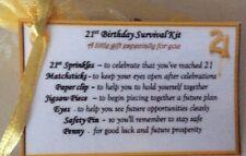 Fun Novelty gift for 16th 18 21st 30 40 50 60 70 80 birthday gift for men women
