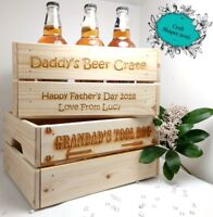 Personalised Gift Crate, Beer / Toy / Tool / Wedding, Fathers Day, Birthday etc
