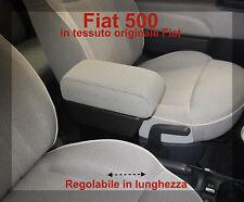 Bracciolo Fiat 500 in tessuto originale Fiat, è Regolabile con portaoggetti $