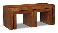 CUBA SHEESHAM ROSEWOOD LONG JOHN COFFEE TABLE (C27W)