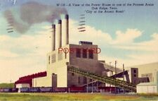 1953 THE POWER HOUSE IN ONE OF THE PROCESS AREAS, OAK RIDGE, TENN