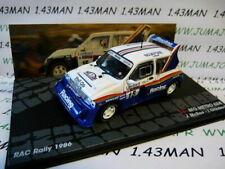 RIT51M voiture 1/43 IXO  Rallye ITALIE MG METRO 6R4 Rac 1986 McRae