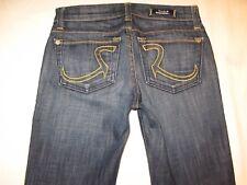Rock & Republic Jeans Kasandra Bootcut Yellow Amethyst  Sz 24 P