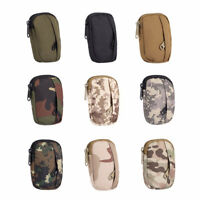 Hunting EDC Pack Military Camo Bag Molle Pouch Small Coin Purse Bag Pouch