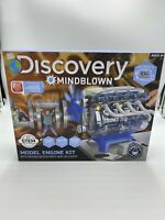 Discovery Mindblown Model Motor Engine Kit STEM Ages 8+ NEW 100 Piece Kit