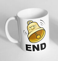 Bell End Design Printed Cup Ceramic Novelty Mug Funny Gift Coffee Tea