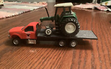 Tonka Farm Truck With Tractor 1/64 Scale Maisto Diecast Metal And Plastic Loose