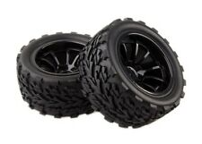 RC 1:10 Monster Bigfoot Truck Rubber Sponge Tires Tyre Wheel Rim For HSP 88030