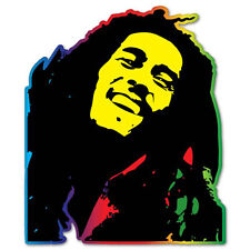 "Bob Marley Tribute to Freedom Vinyl Car Sticker Decal 5"" x 4"""