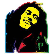 "Bob Marley Tribute to Freedom Vinyl Car Sticker Decal 5"" x 4"""