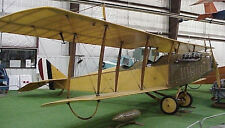 WWI 1/5  Scale Jenny JN4    RC AIrplane Printed Plans & Templates