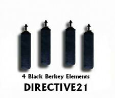 2 Black Berkey Purification Element Sets - Works in any Berkey Water System