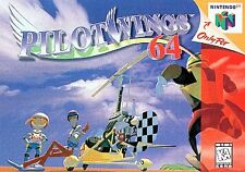 Pilot Wings Nintendo 64 N64 OEM Authentic SkyDiving Retro Video Game Cart Kids