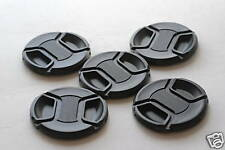 New 5 x 77mm Center Pinch Snap-on Lens Cap Set