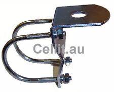 BULLBAR BRACKET ZINC FOR MOBILE PHONE CB UHF ANTENNA/AERIAL SPOT LIGHTS ETC 50mm