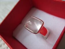 Ring Rosenquarz Sterling Silber 925 Gr. 55 rose quartz silver size 7,2