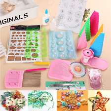 Paper Quilling DIY Craft Tool Full Kit Handmake Work Board Mould Grid Guide Set