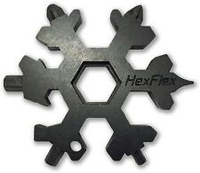 HexFlex HEXBO23M Adventure Tool 15 Tools Black Metric