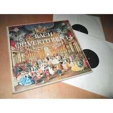 NICOLAUS HARNONCOURT / CONCENTUS MUSICUS ouverturen 1-4 BACH TELEFUNKEN Lp 1966