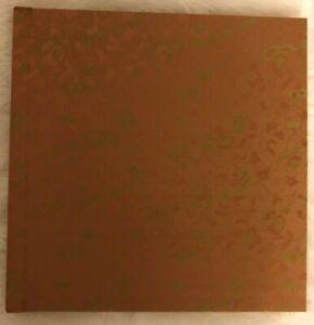 Linen Cloth Self Adhesive Photo Album DIY 14 Pages - Writeable Album