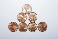 1980, 1 Cent Australia a Lot of 7 High Grade and High Value Coins-26