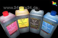 4 x 1 L DYE Ink Tinte Encad Novajet GS 600 630 700 750 850 880 T200 water based