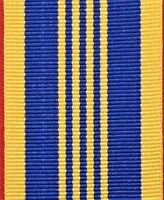 AUSTRALIAN ARMY NAVY AIR FORCE DEFENCE LONG SERVICE MEDAL RIBBON