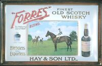 Forres Scotch Whisky Blechschild Schild Blech Metall Metal Tin Sign 20 x 30 cm
