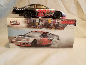 2003 #29 Kevin Harvick GM Goodwrench Brickyard Win Raced Version 1/24 Action