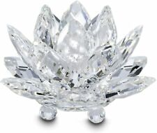 Swarovski Crystal WATERLILY CANDLEHOLDER, Small, Clear - 5084103 New
