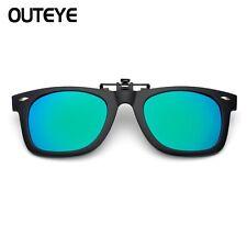 Magnetic Sunglasses Clip Mirrored Clip on sunglasses Men Flip Polarized Myopia
