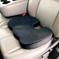 Lumbar Cushion Office Chair Pads Car Flight Seat Travel Comfort Memory Foam Seat