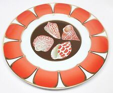 Lynn Chase - Coquilles Des Mers - Service Plate / Charger - Shells of the Sea