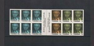 Tonga 1987 Anniversary Coronation King Taufa`ahau Tupoi 1V Booklet MNH per scan