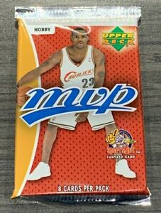 2003/04 Upper Deck MVP Basketball Hobby 8 Cards/Pack Lebron Wade Carmelo Rookie?