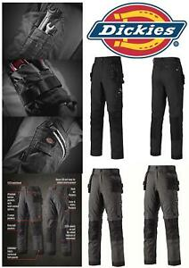 Dickies Universal Flex Holster Trousers TR2010R Black or Grey Choose Size NEW