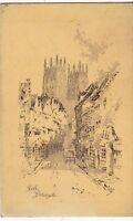 Postcard - York, Petergate.       (Ref A20)
