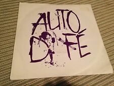 "AUTO DA FE - NOVEMBER NOVEMBER 7"" SINGLE UK NEW WAVE 82'"