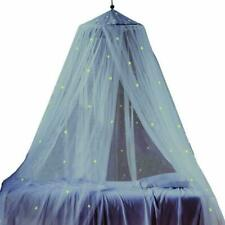 Bed Canopy With Fluorescent Stars Glow In Dark For Baby, Kids, Girls Or Adults,