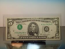 1977 $5 MAJOR ErRoR 3rd Print INVERTED Chicago UPSIDE DOWN SERIAL AND SEALS