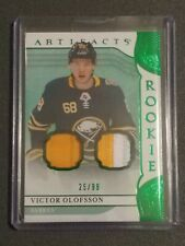 2019-20 Artifacts Victor Olofsson Rookie Patch 25/99