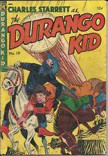 Charles Starrett as The Durango Kid #19 M.E. Comic 1952 GD/+