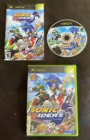Sonic Riders (Microsoft Xbox, 2006)Fun Racing Game That's Tested, Working & CIB!