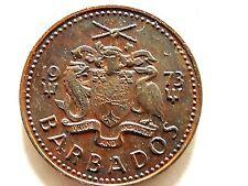 1973 Barbados One (1) Cent Coin